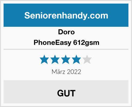 Doro PhoneEasy 612gsm Test