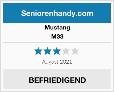 Mustang M33 Test