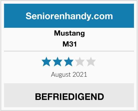 Mustang M31 Test