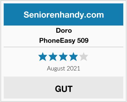 Doro PhoneEasy 509 Test