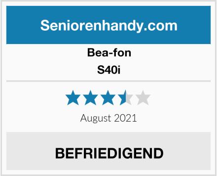 Bea-fon S40i Test