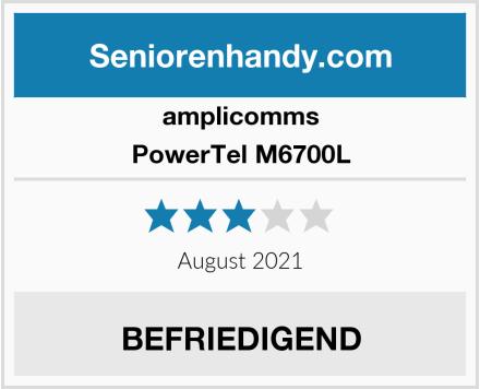 amplicomms PowerTel M6700L Test