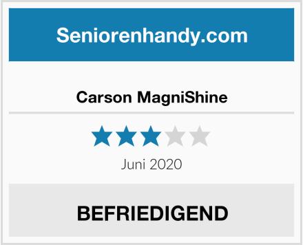 No Name Carson MagniShine Test