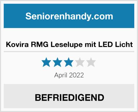 Kovira RMG Leselupe mit LED Licht Test