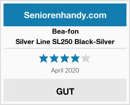 Bea-fon Silver Line SL250 Black-Silver Test