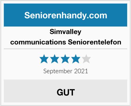 Simvalley communications Seniorentelefon Test