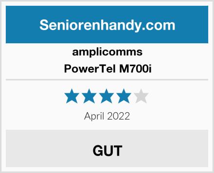 amplicomms PowerTel M700i Test