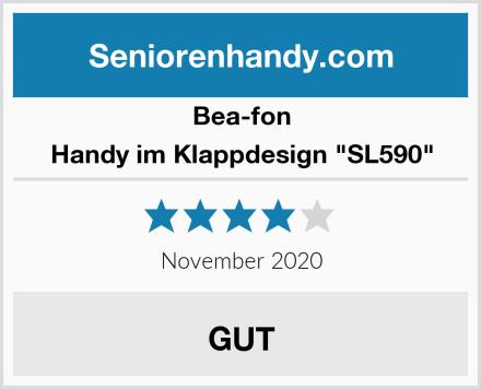 "Bea-fon Handy im Klappdesign ""SL590"" Test"