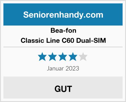 Bea-fon Classic Line C60 Dual-SIM Test