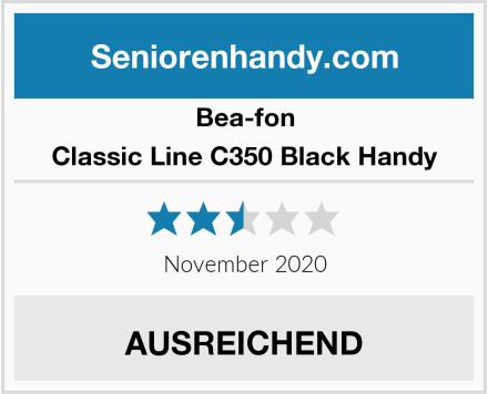 Bea-fon Classic Line C350 Black Handy Test