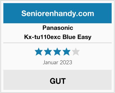 Panasonic Kx-tu110exc Blue Easy Test