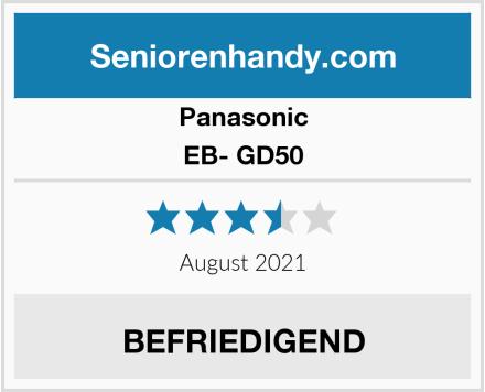 Panasonic EB- GD50 Test