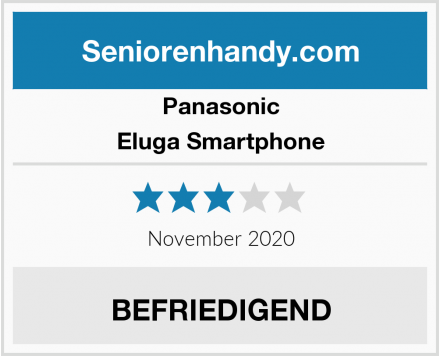 Panasonic Eluga Smartphone Test